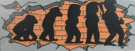 Graffiti Evolution Mädchen