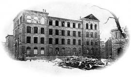 Schulhaus damals
