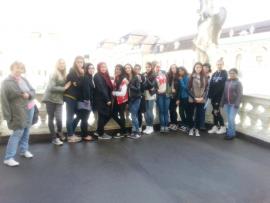 8a vor dem Schloss Ludwigsburg