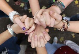 Schülerhände